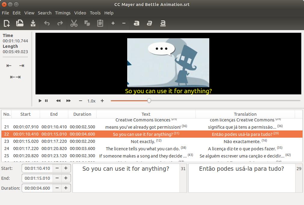 News | Gnome Subtitles - Video subtitling for the GNOME desktop